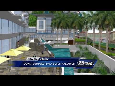 Downtown West Palm Beach makeover