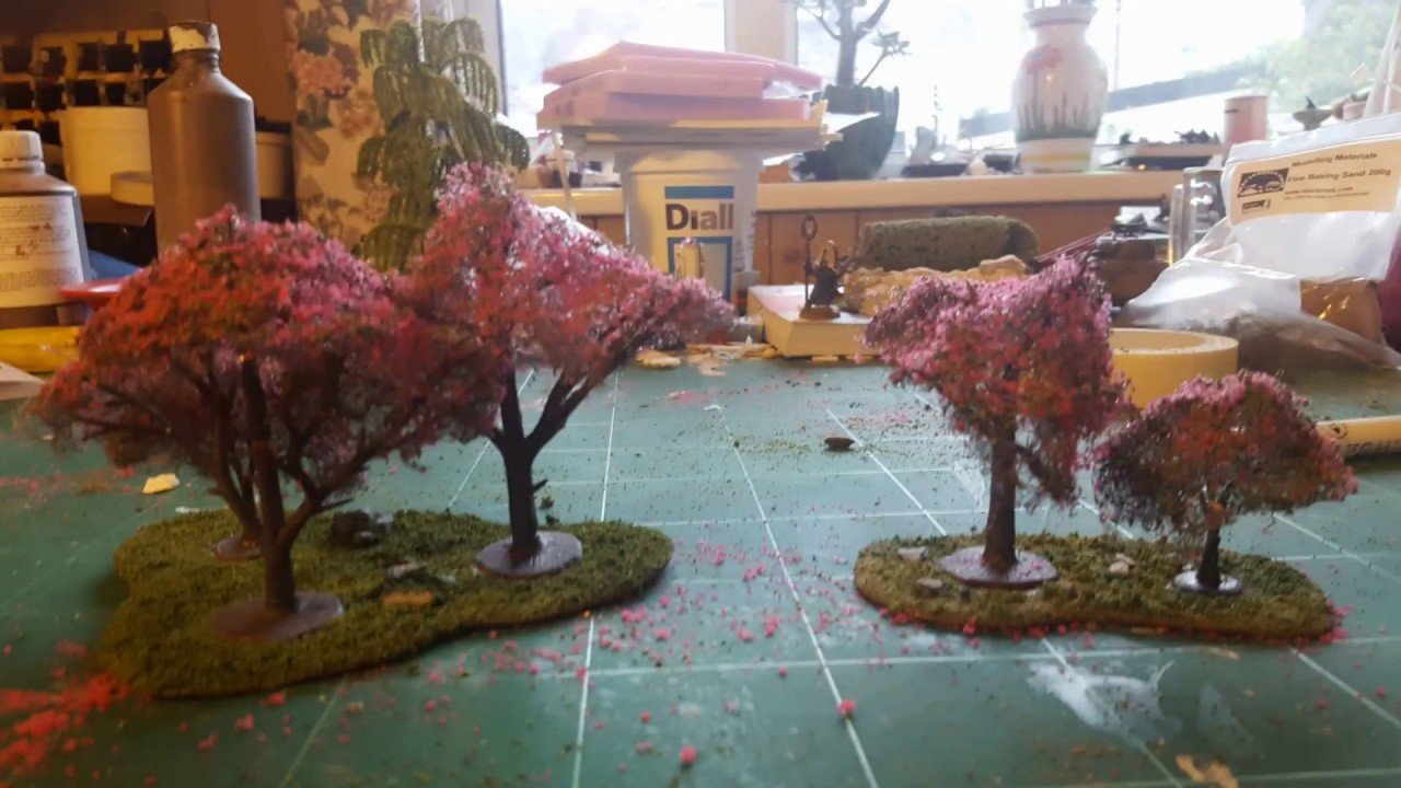 Terrain Tutorial - how to make a cherry blossom