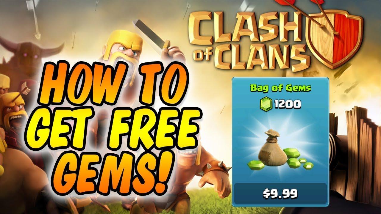 free clash clans gems