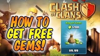 How To Get Unlimited Free Gems In Clash of Clans - Legal and Legit - Feature Points - July 2014