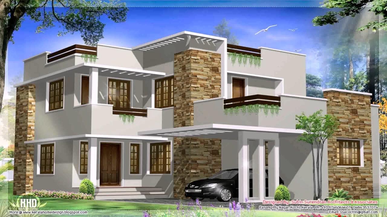 Modern House Elevation Design - YouTube