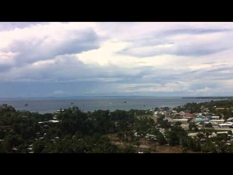 Ironbottom Sound (view from the US War memorial Honiara)