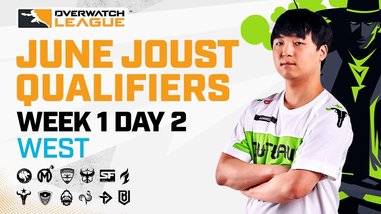 Overwatch League 2021 Season | June Joust Qualifiers | Week 1 Day 2 — West