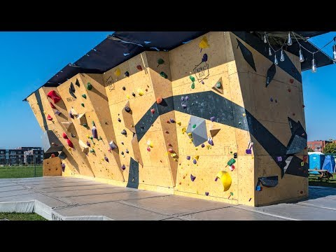 Nomad Bloc: A Portable Climbing Wall