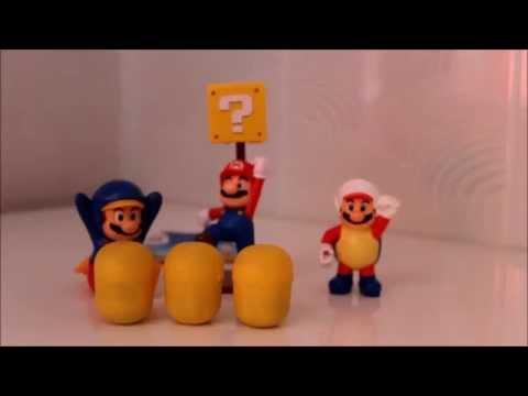 Открываем Киндер Сюрпризы Игрушка из игры Марио Оранжевые яйца Киндер Сюрпризов Kinder Surprise