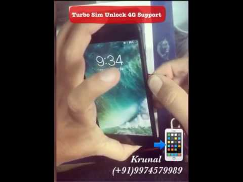 iPhone 7 7Plus Turbo Sim Unlock iPhone Any Carrier Any Country