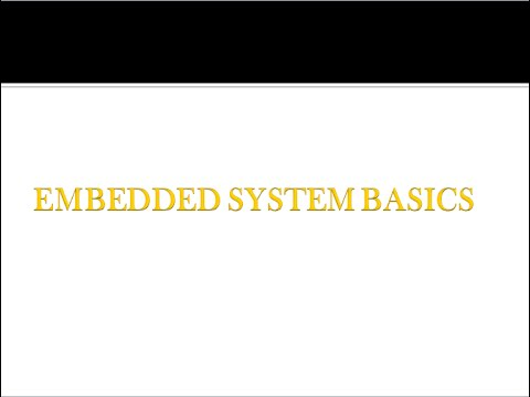 basics of embedded systems The course is for developer to design and program arm-based embedded  systems with  architectures on arm platform and softare design basics and  principles.
