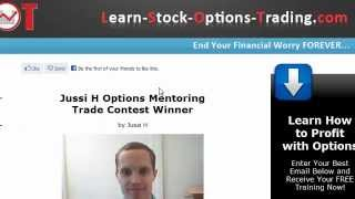 Online Stock Options Trading - How to Earn 11K a Month Trading Options