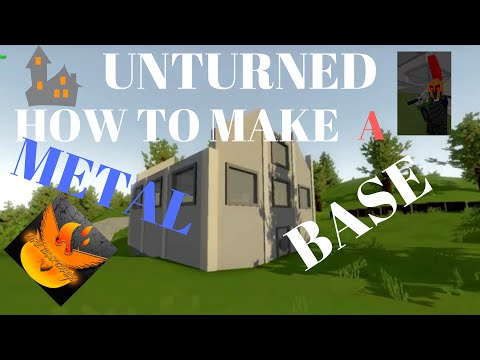 unturned how to make a metal base