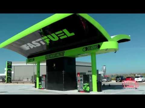 Fast Fuel Franquicias de gasolineras Low Cost