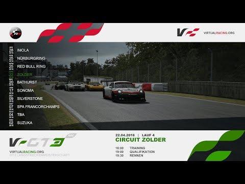 RaceRoom   VRGT3 Round 4 Zolder Practice Race