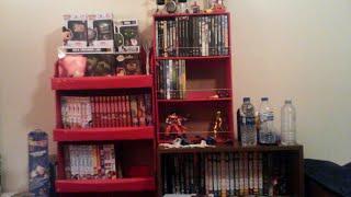 My Books/Manga/Movies/Figures Shelf