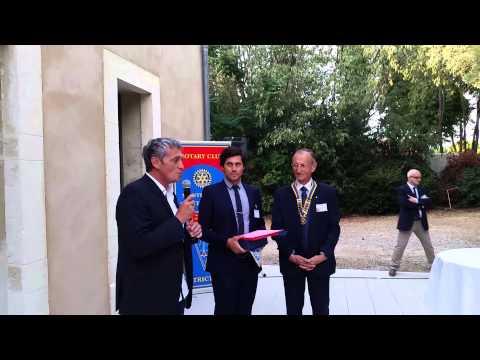 ROTARY CLUB MONTPELLIER MEDITERRANEE PRIX INITIATIVE 2014