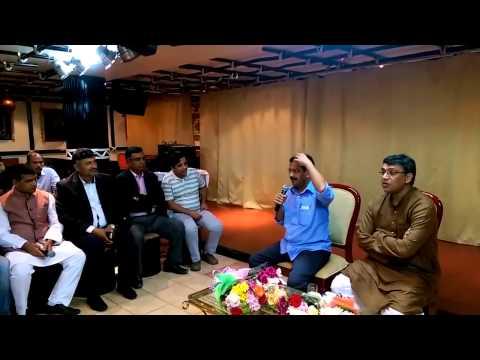 Chit Chat with Arvind Kejriwal in Dubai, UAE