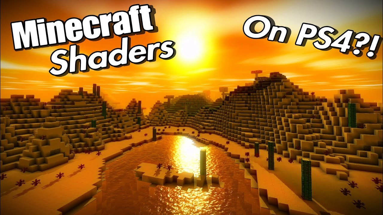 Minecraft Shaders on PS4? A closer look at Discovery YouTube