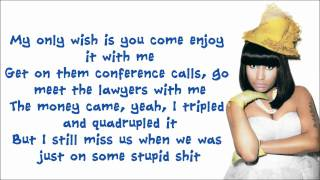 Repeat youtube video Nicki Minaj - Dear Old Nicki Lyrics Video