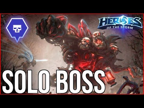 Heroes of the Storm - Solo'ing Boss Technique