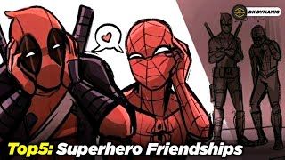 Top 5 Best Friendships from MCU, DCEU & The Boys // Explained In Hindi // DK DYNAMIC
