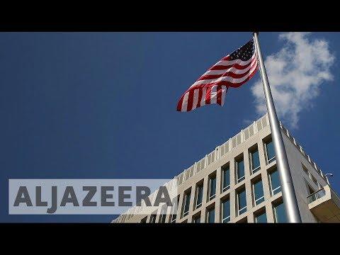 US expels Cuban diplomats over 'medical incidents'