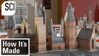 How 3D Jigsaw Puzzles Are Made | How It's Made