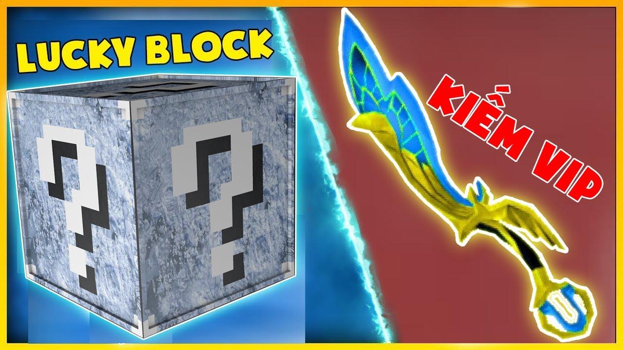 T Gaming Thử Thách Chế Tạo Lucky Block Băng Giá Siêu Vip ?? Quả Táo Siêu Vip Bất Tử ??