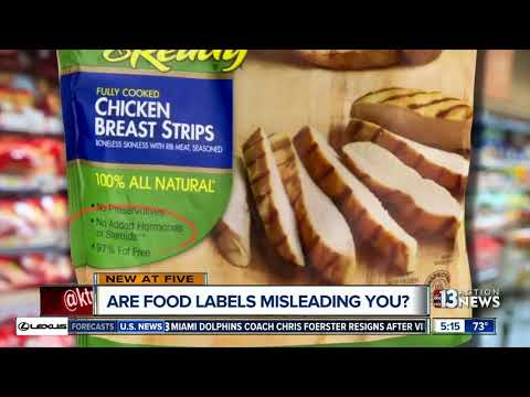 Are food labels making misleading nutrition claims?