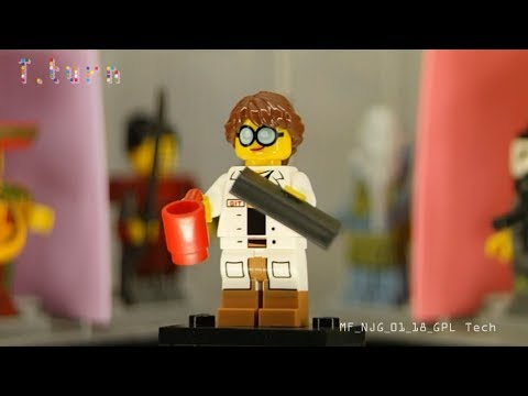 Lego Minifigure The Ninjago Movie Series GPL Tech