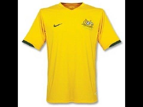 Australia National Football/Soccer Shirt/Jersey by Nike