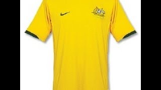 Australia National Football/Soccer Shirt/Jersey by Nike