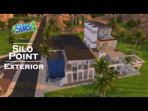 The Sims 4 | Let's Build Baltimore | Silo Point EXTERIOR
