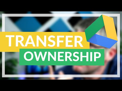 Change Ownership of a File in Google Drive (as User or Admin)