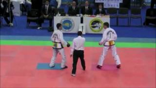 Taekwondo ITF knockouts