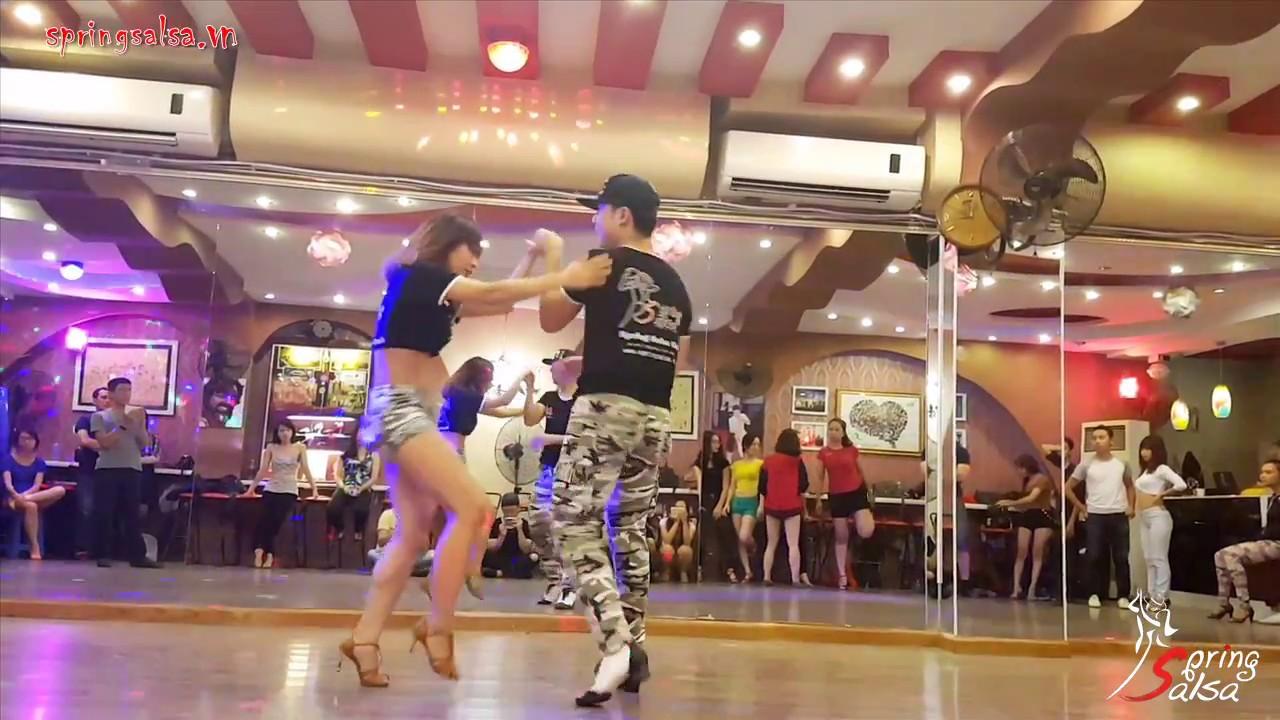 Advanced Salsa Move #20 - NGỌC NAM & BÍCH NGỌC (Spring Salsa, Hanoi)