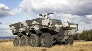BAE Systems - Alligator 6x6 Armoured Patrol Vehicle