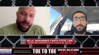 Titan FC 38's Belal Muhammad: 'Steve Carl will try to make it a grappling match'