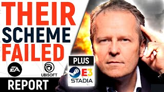 TOTAL 180! EA & Ubisoft's Casual-Grabbing Proven WRONG By Fans | E3 DYING, BIG Stadia $$$