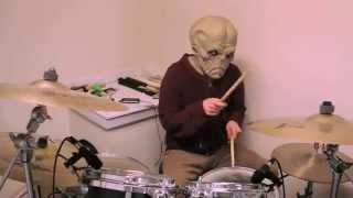 Radiohead - Subterranean Homesick Alien (drum cover)