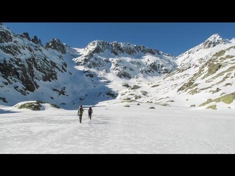 El Casquerazo 2.436m (ascensión invernal 6/3/14)