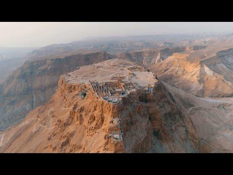 Masada - Ancient Stone Fortress Of Israel