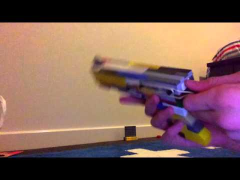 Easy to make Lego pistol (working) - YouTube