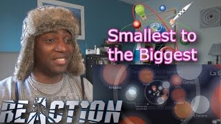 The Smallest to the Biggest thing in the Universe! how Big is the Universe - REACTION!