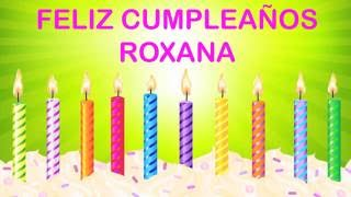 Roxanaespanol Roxana pronunciacion en espanol  Wishes & Mensajes - Happy Birthday