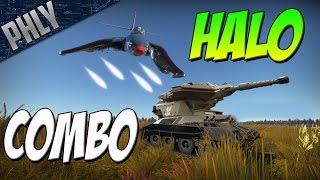 halo combo m 56 scorpion tank f2h banshee war thunder tanks gameplay