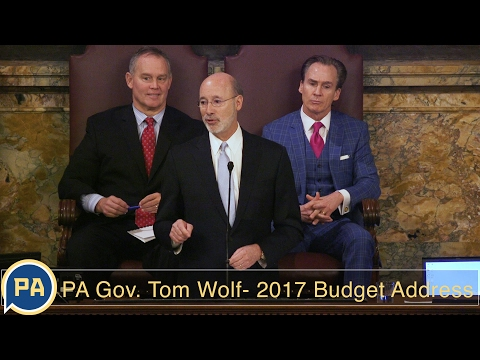 Full video: Pennsylvania Governor Tom Wolf delivers the 2017 budget address