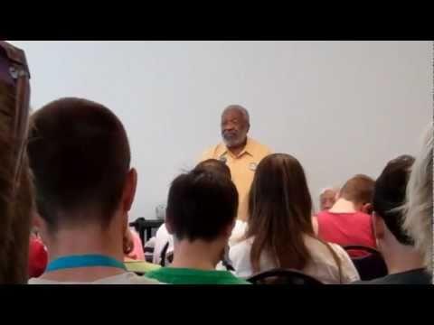 Vincent Harding at the Allied Media Conference, Detroit, MI June 26, 2011