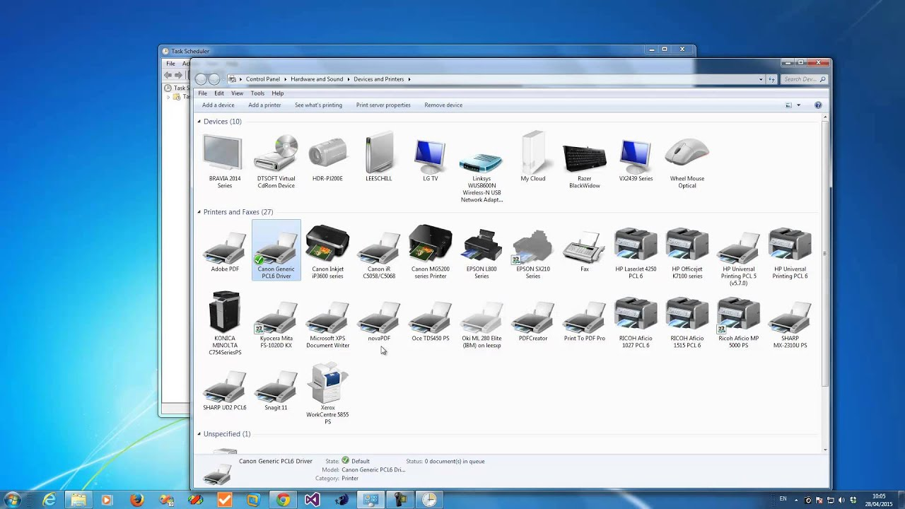 how to use windows task scheduler