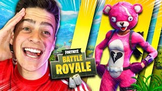 I BOUGHT THE PINK BEAR SKIN AT FORTNITE: BATTLE ROYALE!!!! ‹ JonPlays ›