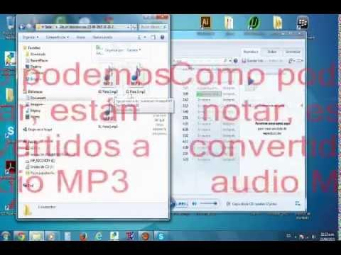 Convertir audios en cualquier formato a mp3 con el Reproductor de Windows