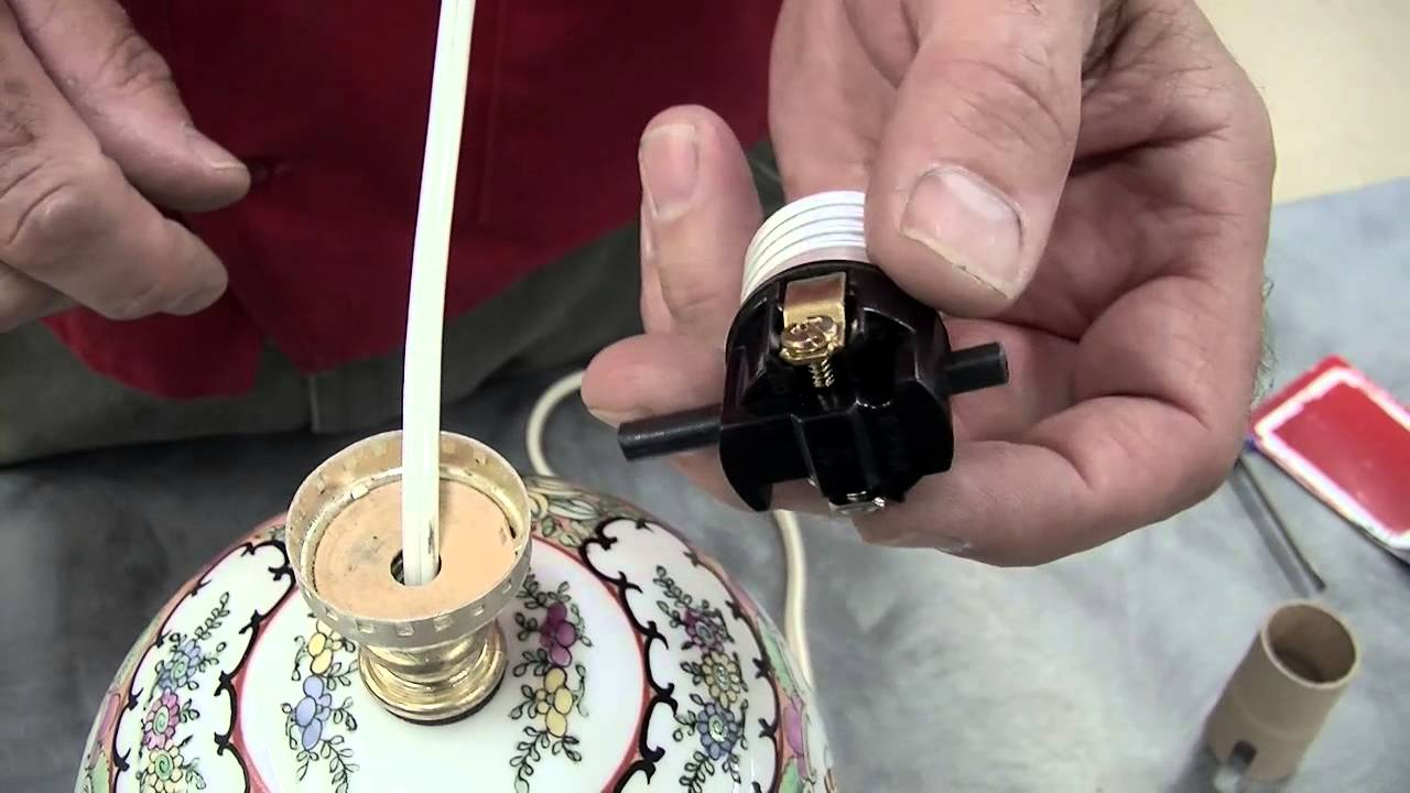 How To Replace A Lamp Switch And Socket