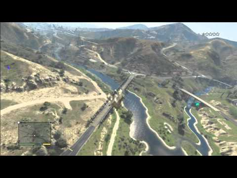 Grand Theft Auto V: Fort Zancudo (Stealing Military Helicopter)